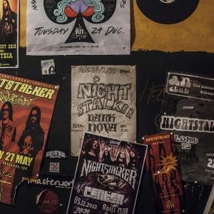 Nighstalker Live Posters